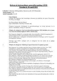 Referat af ekstraordinær generalforsamling i DTH Torsdag d. 18 ...