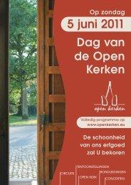 Dag Open Kerken 2011