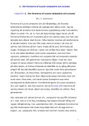 2. Om formerna af Luzula campestris och arcuata ... - laestadiusarkivet