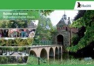 Ruimte voor bomen Bomenbeleidsplan Hoorn - Gemeente Hoorn