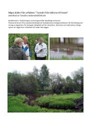 Läs mer och se bilder från utflykten - Tyresåns vattenvårdsförbund