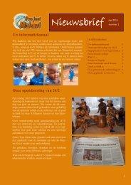 Nieuwsbrief mei 2013 - Project Malawi