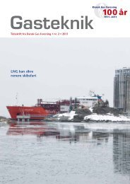 Gasteknik nr. 2, april 2011 [PDF] - Dansk Gas Forening