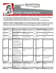 download the complete Foreign Language Books catalog