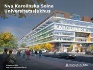 Nya Karolinska Solna Universitetssjukhus