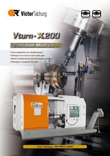 Vturn-X200 - Victor France Machine Outil