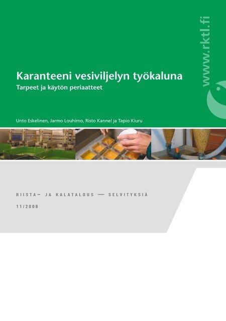 Lue koko julkaisu (pdf) - Riista