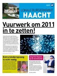 december 2010 - Open VLD Haacht