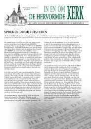 Spreken door luiSteren - Hervormde Gemeente Barneveld