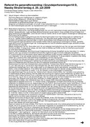Referat fra generalforsamlingen 25. juli 2009 - Naesbystrand.dk