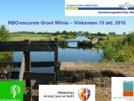 presentatie - Natuur en Milieufederatie Utrecht