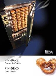 FIN-BAKE FIN-DEKO - Salvis Nederland