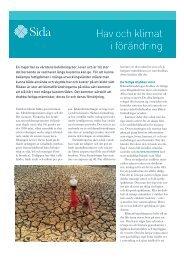 Hav och klimat i förändring - Global Forum