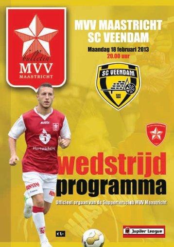 MVV MAASTRICHT SC VEENDAM - Supportersclub MVV