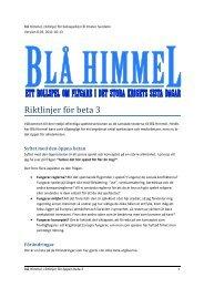 Blå Himmel beta 20111013 - Rävsvans Förlag