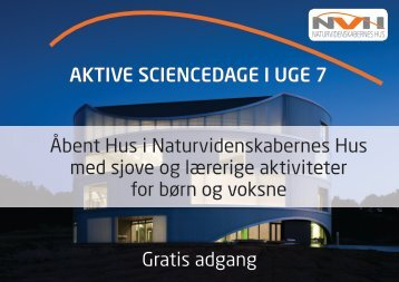 Aktive SciencedAge i uge 7 Åbent Hus i ... - Jebjerg Skole