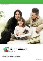 Informationsblad Budgivning - Alltid Hemma