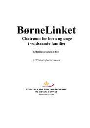 BørneLinket Chatroom for børn og unge i ... - Servicestyrelsen