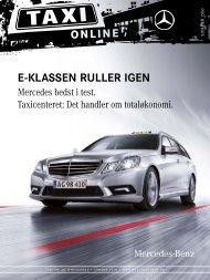 Taxi online 2 10 - Mercedes-Benz Danmark