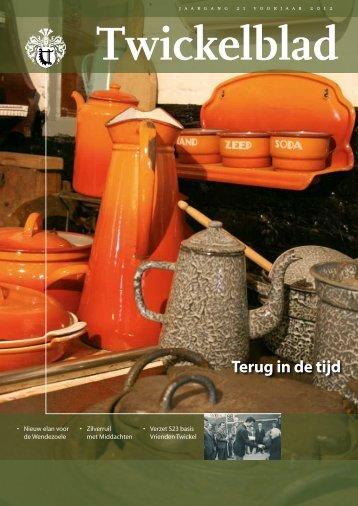 Twickelblad voorjaar 2012