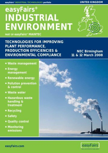 easyFairs.com - Environmental Legislation Update Service
