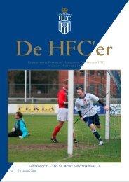 nr. 3. 28 januari 2008 Koninklijke HFC - DSS 3-0. Wesley ...