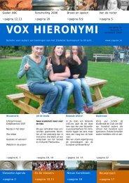 VOX November 2006 - USG Vox