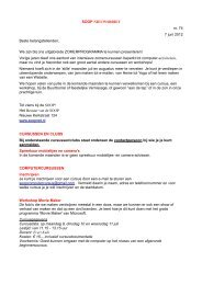 SOOP NIEUWSBRIEF nr. 74 7 juni 2012 Beste belangstellenden ...