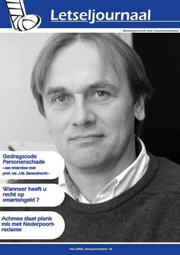 maart '06.qxp - De Vereniging voor Letselschade-Slachtoffers