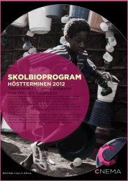 SKOLBIOPROGRAM - Visualiseringscenter C