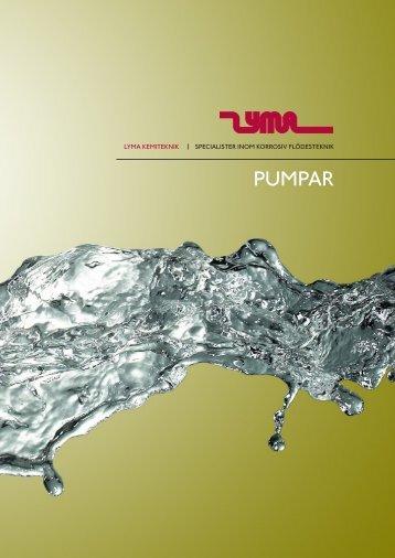Kapitel - Pumpar - Lyma Kemiteknik