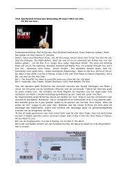 Paul McCartney Antwerpen 2012 - Beatles in Belgium