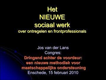 Het nieuwe sociaal werk