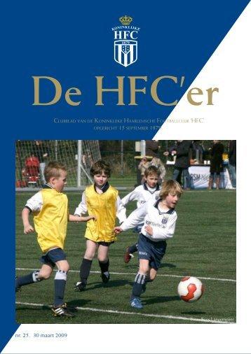 nr. 25. 30 maart 2009 - Koninklijke HFC