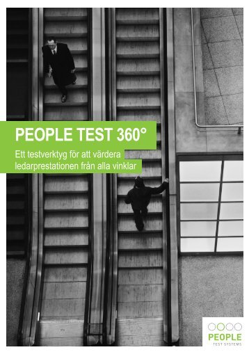 PEOPLE TEST 360° - People Test Systems