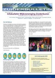 pagina 1 t/m - Wijkvereniging Zuiderburen