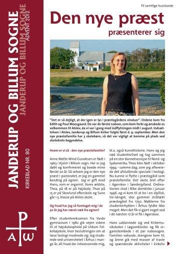 Kirkeblad nr. 80 - Advent 2012 - Billum