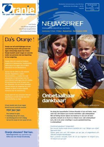 N° 3 Onbetaalbaar dankbaar! - Oranje