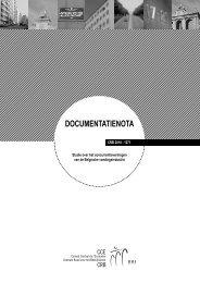 documentatienota - Centrale Raad voor het Bedrijfsleven