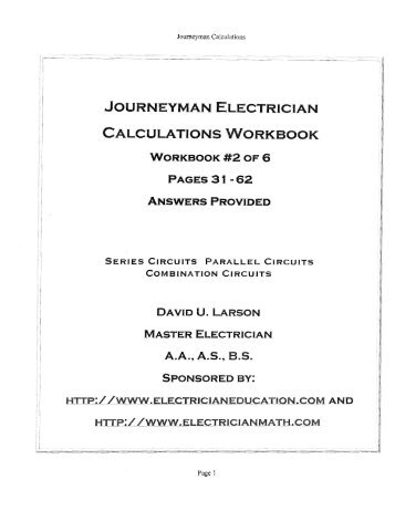 math review for electrician apprentices Edison International Benefits Edison International Benefits