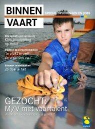 VAART bInnEn - Promotie Binnenvaart Vlaanderen