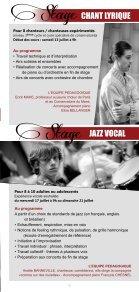plaquette de présentation - Stage en Pays de Falaise - Page 3