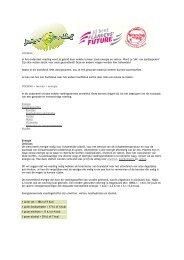 download als PDF - Jongeren & Voeding