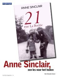Magazine 376_Boekbespreking Anne Sinclair - De Centrale