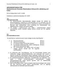 Arvodesstadga för SÖFUK 1.4.2009 - Svenska Österbottens förbund ...