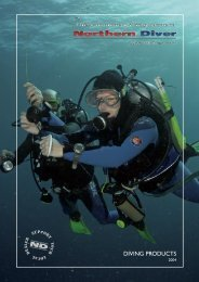 A4 product Catalogue Final 2.indd - Northern Diver Australia