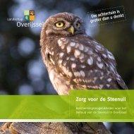 Zorg voor de Steenuil - Landschap Overijssel