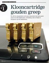 Digitaalgids maart 2012 Test printers en prijzen klooninkt - 123inkt.nl