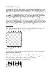 Kapittel 1: Spillets grunnregler