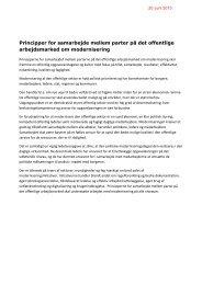 7 principper for samarbejde mellem parter på det offentlige ... - OAO
